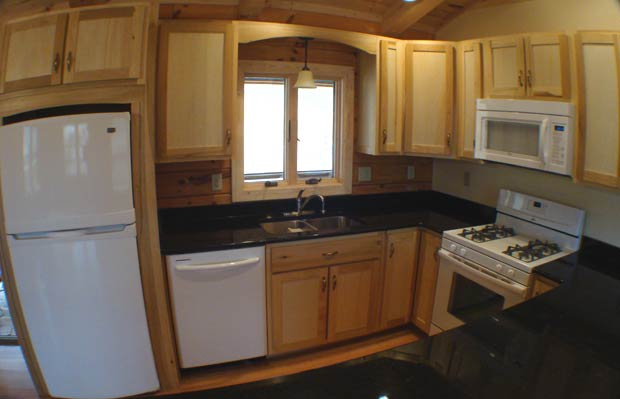 Hand crafted solid poplar kitchen cabinets clement - Poplar wood kitchen cabinets ...