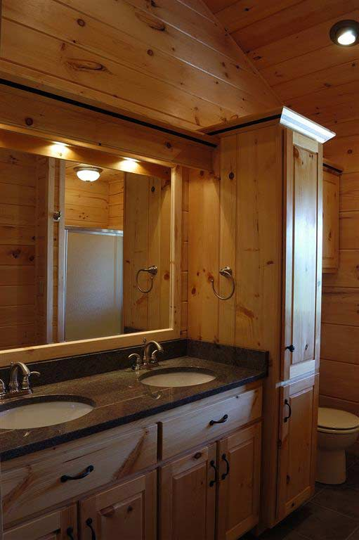 pine bathroom cabinets