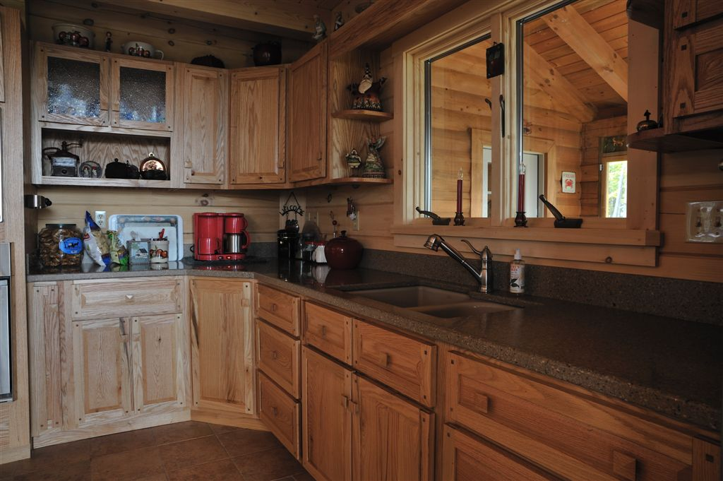 Merveilleux Hand Crafted Solid Oak Kitchen Cabinets: Grove
