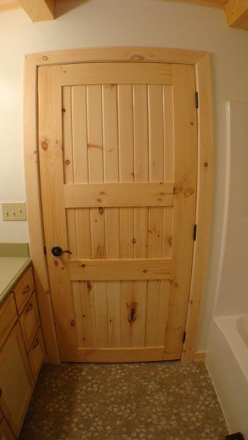 Hand Crafted Solid Poplar Interior Door Clement & ReedBuild.com - Doors: Interior