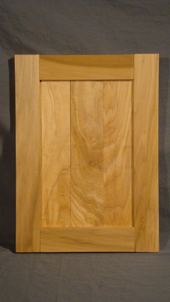 Hand Crafted Solid Poplar Cabinet Door Sample